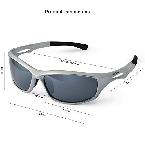 29d50349d2 Our third choice for the best running sunglasses are the Duduman Polarized Sports  Sunglasses. They will protect your eyes against both UVA and UVB rays