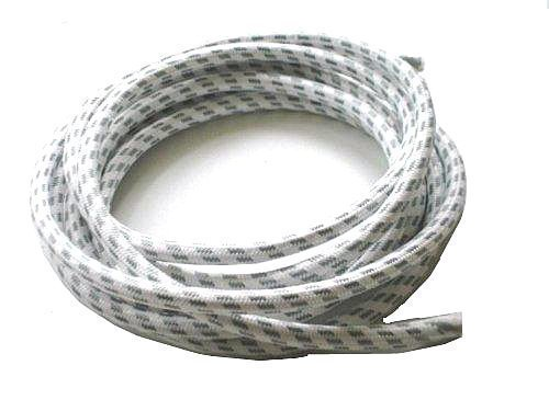 First4Spares 3 Metre Steam Iron Cotton Covered Heat Resistant Cable Flex