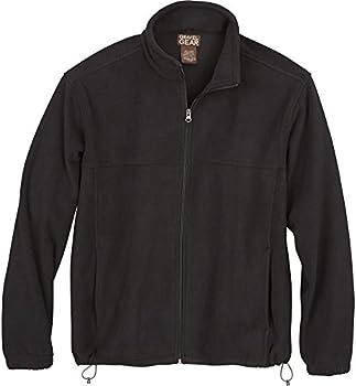 Gravel Gear Mens Zip-Up Fleece Jacket