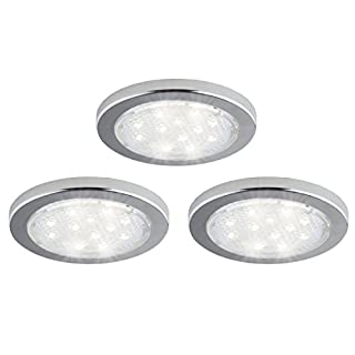 Bazz 3 Pack Under-Cabinet Integrated LED Puck Lights Linkable Surface Installation  sc 1 st  Do-it-yourself.store & Bazz | Do-it-yourself.Store