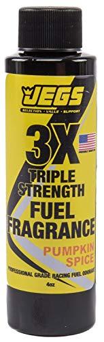 JEGS 63665 Fuel Fragrance Pumpkin Spice Scented 4 oz. Bottle Safe for All Intern