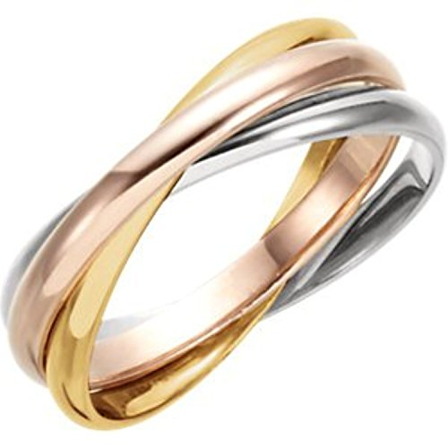 3 Band Rolling Ring - 5