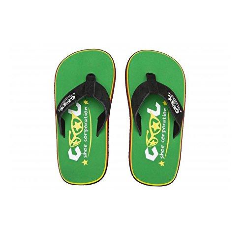 Cool Shoes Original Pi Grass , Grün Flip Flops Sandalen Zehentrenner Strandlatschen Badeschlappe (35/36)