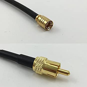 USA-CA RG174 PL259 UHF Male to PL259 UHF Male Coaxial RF Pigtail Cable
