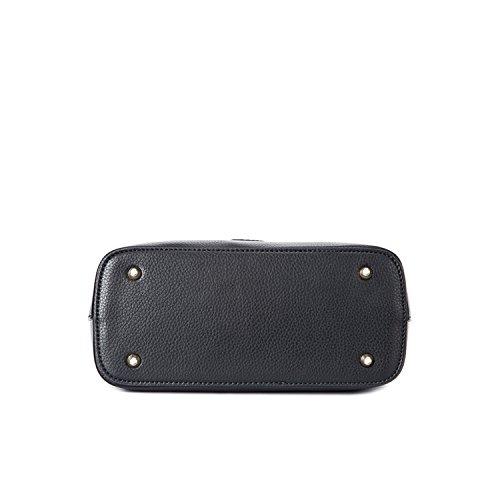 Miyoopark , Damen Satchel-Tasche schwarz