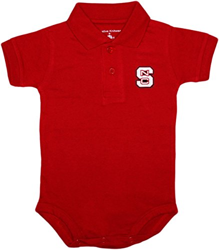 North Carolina State University NC Wovles Tide Newborn Polo (Red North Carolina State University)