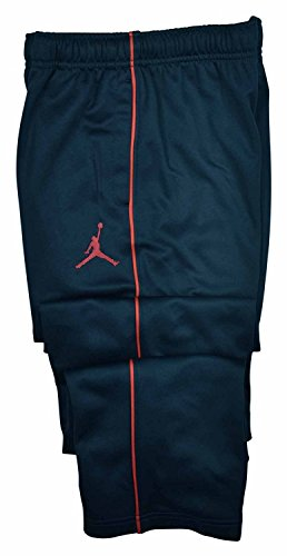 Therma-fit Jumpman Athletic Track Pants (XL(13-15YRS), Black/Red) (Nike Therma Fit Pant)