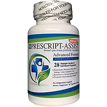 Prescript-Assist Soil based Probiotic and Prebiotic- -60Capsules ( with pea protein )