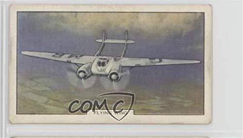Flying Wing Ungraded COMC Good to VG-EX (Trading Card) 1939 Gallaher Aeroplanes - Tobacco [Base] #36