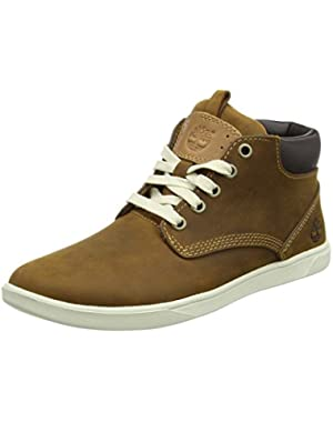 Groveton Chukka Red Brown Nubuck Youth Boots