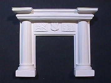 Uberlegen Kaminmantel Mit Säulen