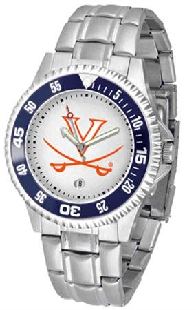 (Virginia Competitor Men's Steel Band Watch)