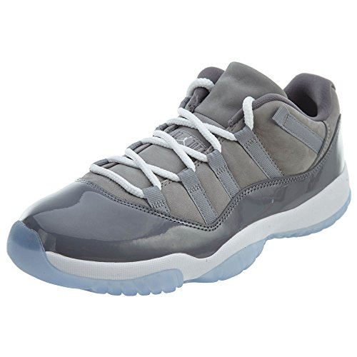 r 11 Retro Low, Medium Grey/White-Gunsmoke, 8 M US ()