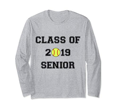 (FUNNY CLASS OF 2019 SENIOR SOFTBALL GRADUATION)