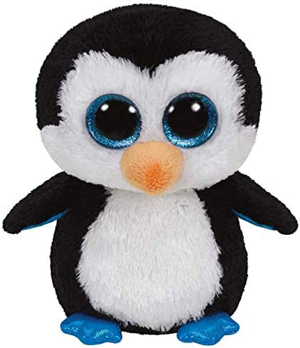 Alaska Stuffed Animals, Amazon Com Ty Beanie Boos Waddles Penguin Toys Games
