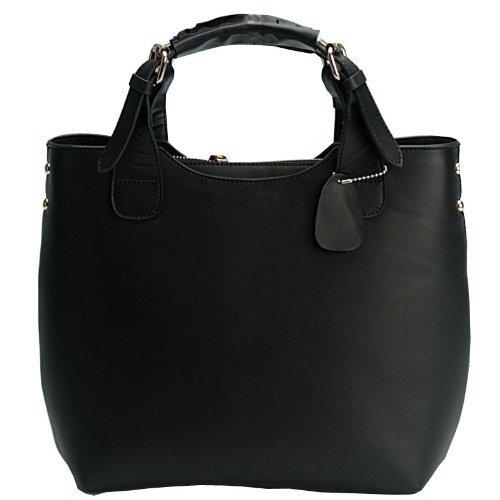 fineplus women s leather smooth skin shoulder bag big
