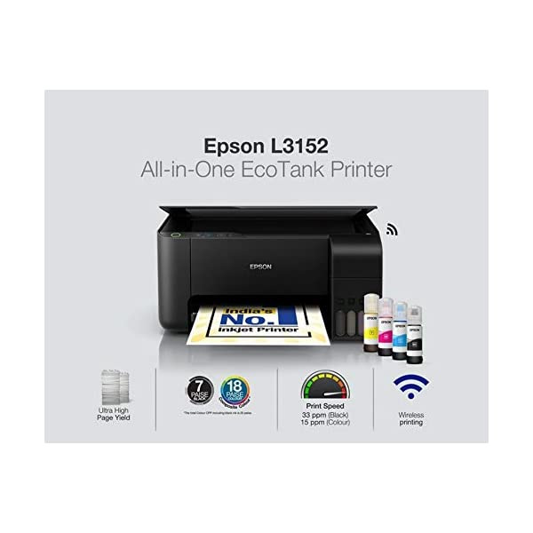 best All in One Wireless Ink Tank Printer in india