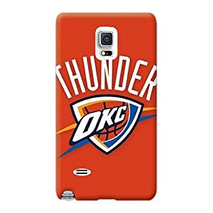 Plàstico rígida para Samsung Galaxy Note 4 con proporcionarnos privado portadisco hermosa Nba Oklahoma City Thunder 2 fotos KennethKaczmarek