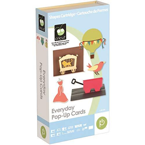 - Cricut 2001018 Everyday Pop-Up Cards Cartridge