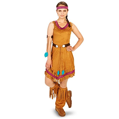 [Native Princess Adult Costume M] (Pocahontas Wig)