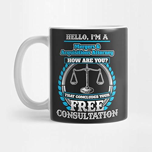 Lawyer Humor T shirt For A Mergers & Acquisitions Attorney Mug Standard Mug Mug Coffee Mug Tea Mug - 11 oz Premium Quality printed coffee mug - Unique Gifting ideas for Friend/coworker/loved ones