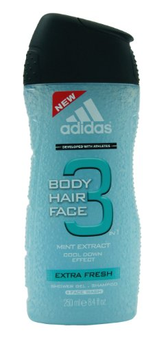 Price comparison product image Adidas Extra Fresh By Adidas Body Hair And Face Gel 8.4 Oz