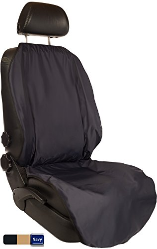 CleanRide&Trade;: Bacteria-Resistant, 100% Waterproof Car Seat Cover and Protector: Triathlon Beach Yoga Running Crossfit Sweat Workout (Odor-Resistant and ()