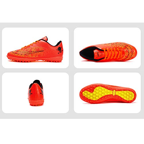 a211dc340d1dd ... iFANS Men Athletic Outdoor/Indoor Comfortable Soccer Shoes Boys  Football Student Cleats Sneaker Shoes ...