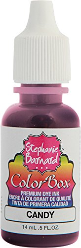 Clearsnap Holding ColorBox Premium Dye Ink by Stephanie Barnard Refill 0.5 Fluid oz. Bottle, Candy fl