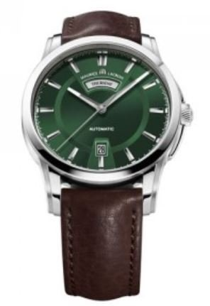Maurice Lacroix Pontos Day/Date Automatic Watch, Stainless steel, G