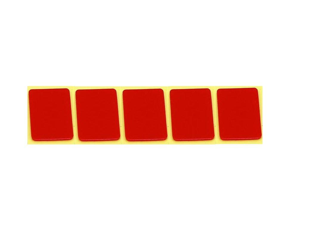 PITTASOFT 5 Pieces 5 x BLACKVUE Rear Camera Mount Double Side Tape Sticker DR650S-2CH / DR650GW-2CH / DR750LW / DR550GW-2CH