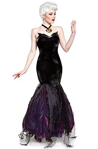 Disney Women's Ursula Prestige Adult Costume, Black, Small for $<!--$99.99-->