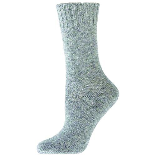 B.ella Women's Estelle Glitter Cashmere Blend Socks (Grey)