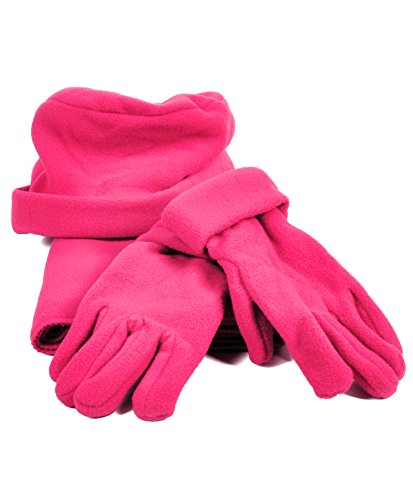 Pink Hat Gloves - 5