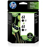 HP 61 | 2 Ink Cartridges | Black | CH561WN