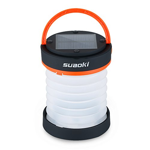 Suaoki Led C&ing Lantern Lights Rechargeable Battery (Powered By Solar Panel and USB Charging) Collapsible Mini Flashlight for Outdoor Hiking C&ing Tent ...  sc 1 st  Amazon.com & Solar Tents: Amazon.com