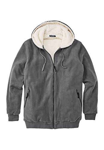 Kingsize Explorer Fleece Full Zip Hoodie