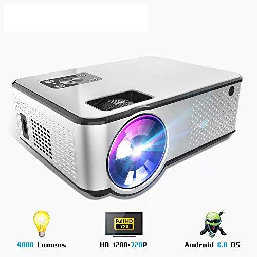 WXCZ Projektor 1280 * 720P Unterstützt 4K-Videos Über Den Hdmi-Heimkino-Videoprojektor