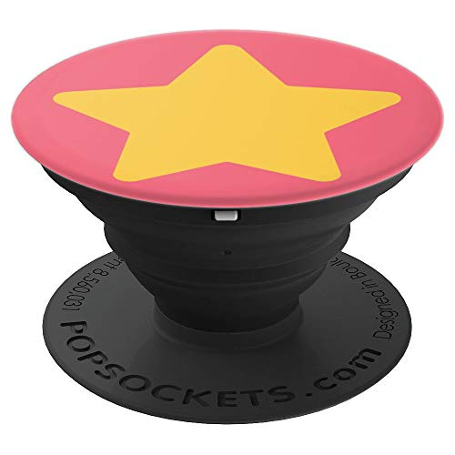 PopSockets: Star Cosplay Costume - Universe Pink Gem - PopSockets Grip and Stand for Phones and Tablets