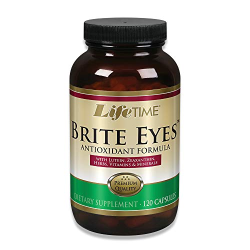 Lifetime® Brite Eyes™ Antioxidant Formula | Supports Dry Eyes, Vision & Eye Health | with Lutein, Zeaxanthin, Bilberry, Vitamin A & C | 60 Servings