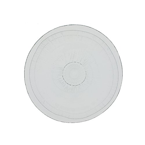 French Home Set of 4, 8-inch Ice Clear Birch Salad Plate