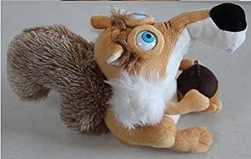 Amazon.com: Nueva felpa juguete de Talking ardilla la cabeza ...