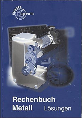 Rechenbuch metall lösungen.