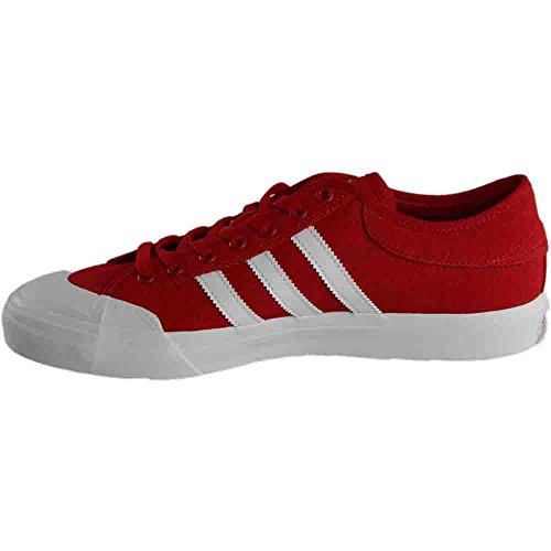 Adidas Heren Matchcourt Scarlet / Schoeisel Wit / Gom
