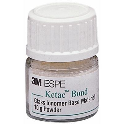 3M 37330 Ketac Bond Glass Ionomer Base Material Powder Refill, Yellow Shade, 10 g
