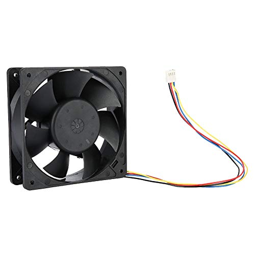 Acogedor 4000RPM Cooling Fan for Antminer S7 S9 Mining,High Precision Dual Ball Bearing 4 PIN Cooling Fan for Antminer,Wind-Force up to 151.85CFM by Acogedor