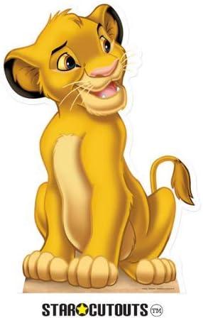 Partyfest - Disfraz El Rey león (SC409): Amazon.es: Juguetes y juegos