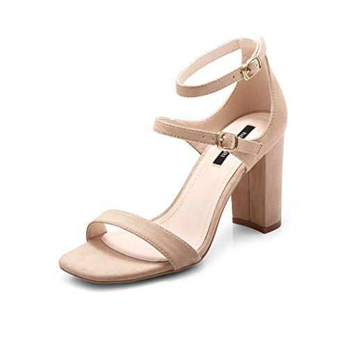 De Tac De Mujer Gruesos Zapatos De De Tacones Zapatos Verano Sandalias ZCJB q8avYP8n