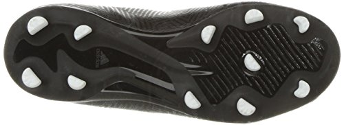 adidas Unisex Nemeziz 18.3 Firm Ground Soccer Shoe, Black/White, 5.5 M US Big Kid by adidas (Image #3)