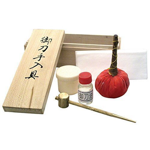 Ace Martial Arts Supply Japanese Samurai Katana Sword Maintenance Cleaning Kit